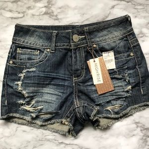 Almost Famous High Rise Denim Shorts